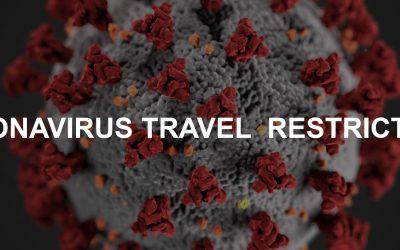 Urgent Notice – Travel Restrictions