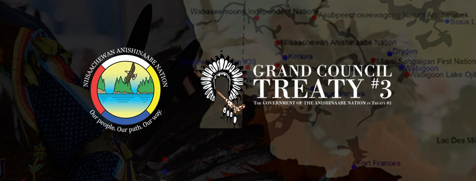 Niisaachewan Anishinaabe Nation & Grand Council Treaty #3 Logo